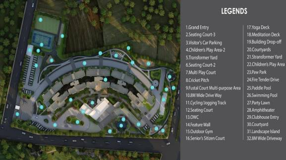 Godrej 24 layout plan