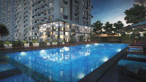 Godrej air nxt swimming pool